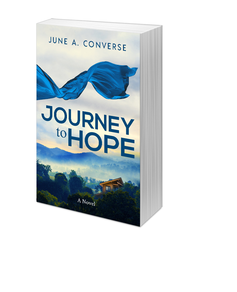 3D cover of Journey to Hope by June Converse