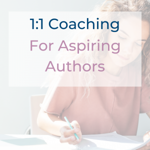 1 to 1 Coaching for Aspiring Authors